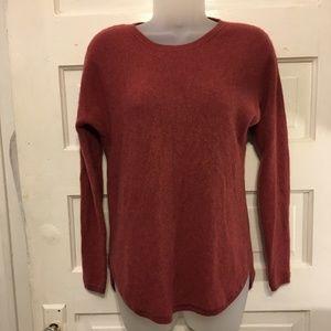 Max Studio Sz S 100% Cashmere Crew Neck Sweater